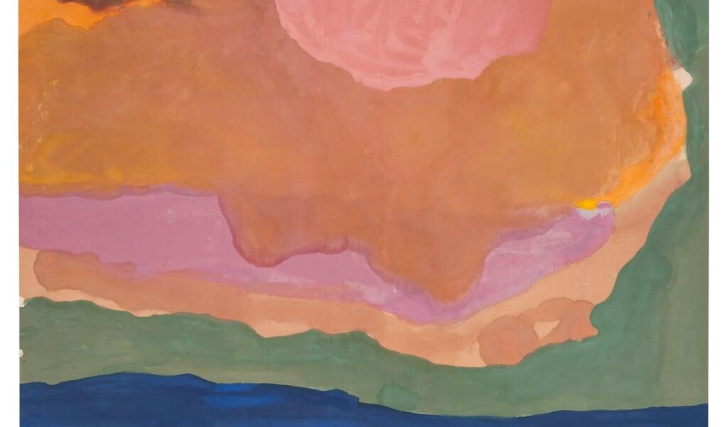 (beeld Helen Frankenthaler foundation / artists rights society new york / pictoright amsterdam)
