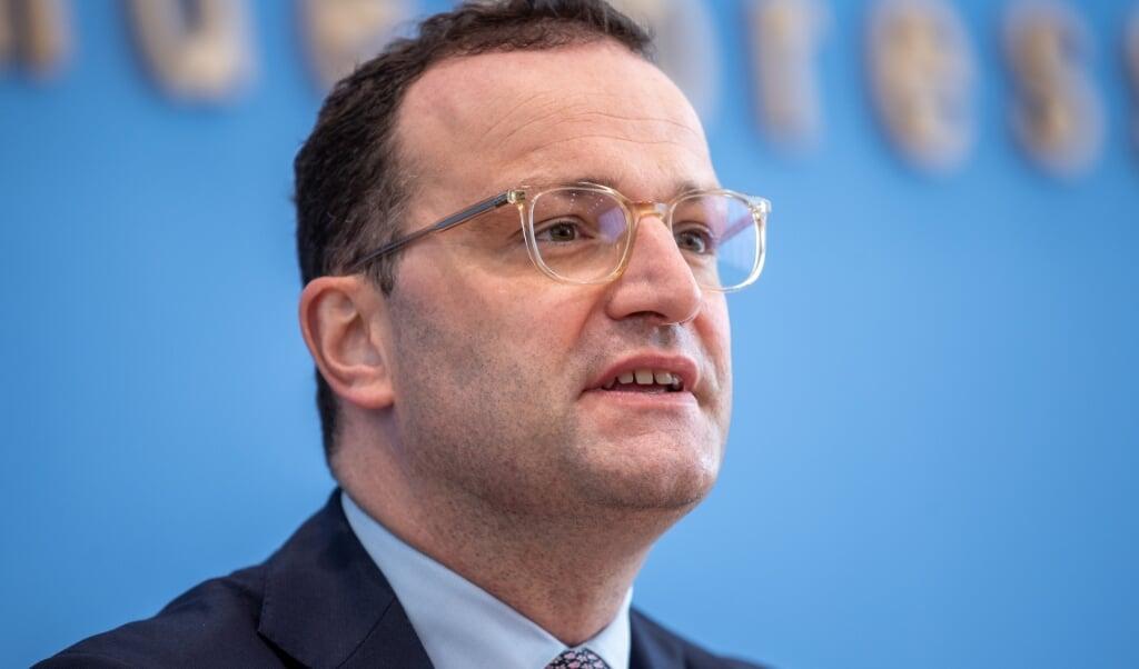 Minister Jens Spahn  (beeld epa / Andreas Gora)