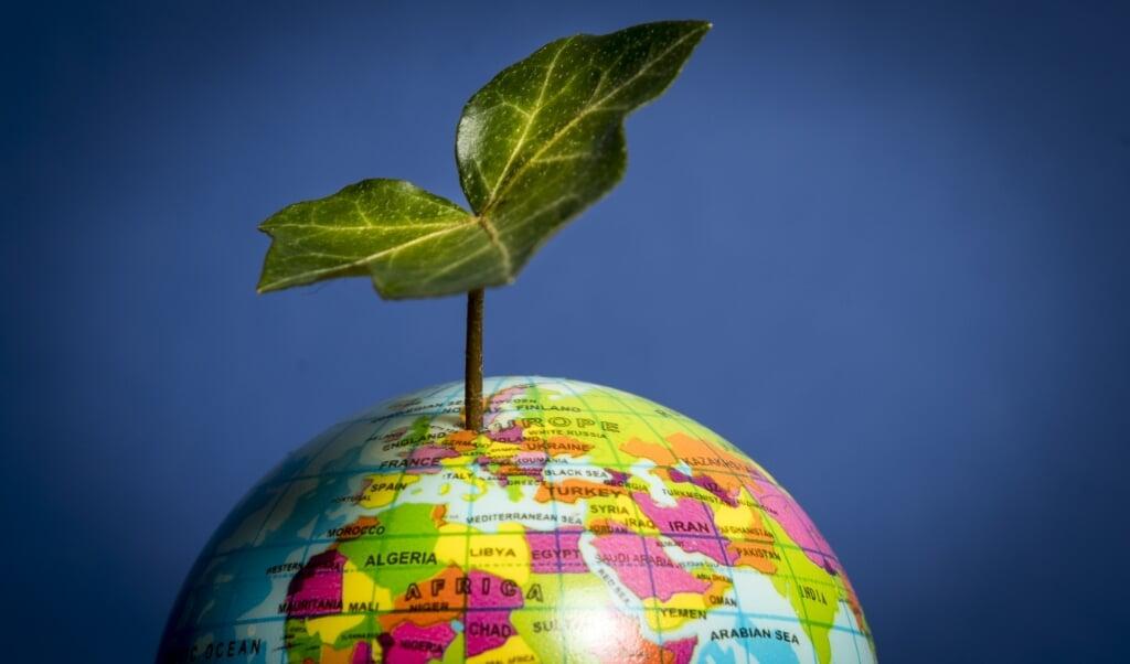 Jonge klimaatactivisten vind ik zelden onder christenen.  (beeld anp / Lex van Lieshout)