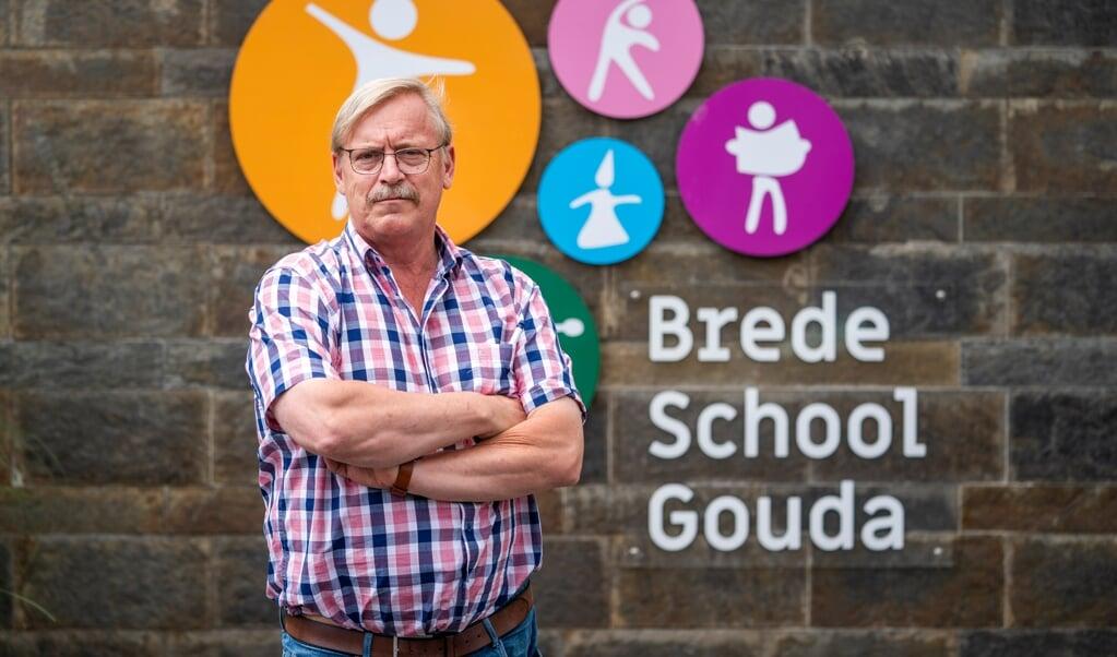 Hans van Kekem, directeur van de Brede School.  (beeld Jeroen Jumelet)