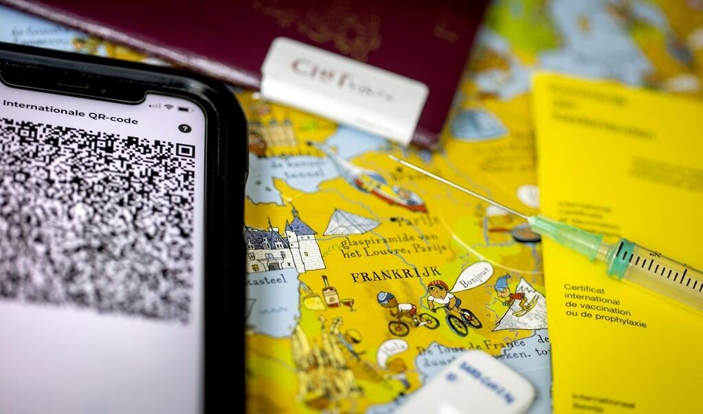Door alle landen in de EU die niet groen zijn op geel te zetten, krijgen vakantiegangers meer duidelijkheid.   (beeld anp / Koen van Weel)