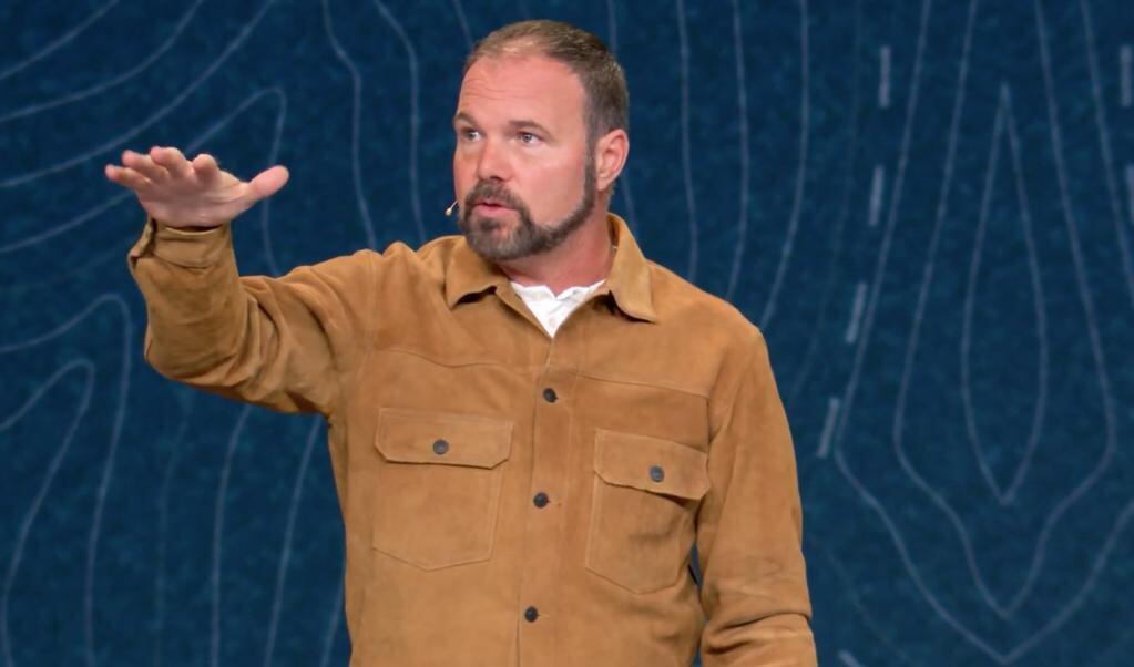 Mark Driscoll wordt ook wel omschreven als 'evangelical bad boy'.  (beeld James River Church)