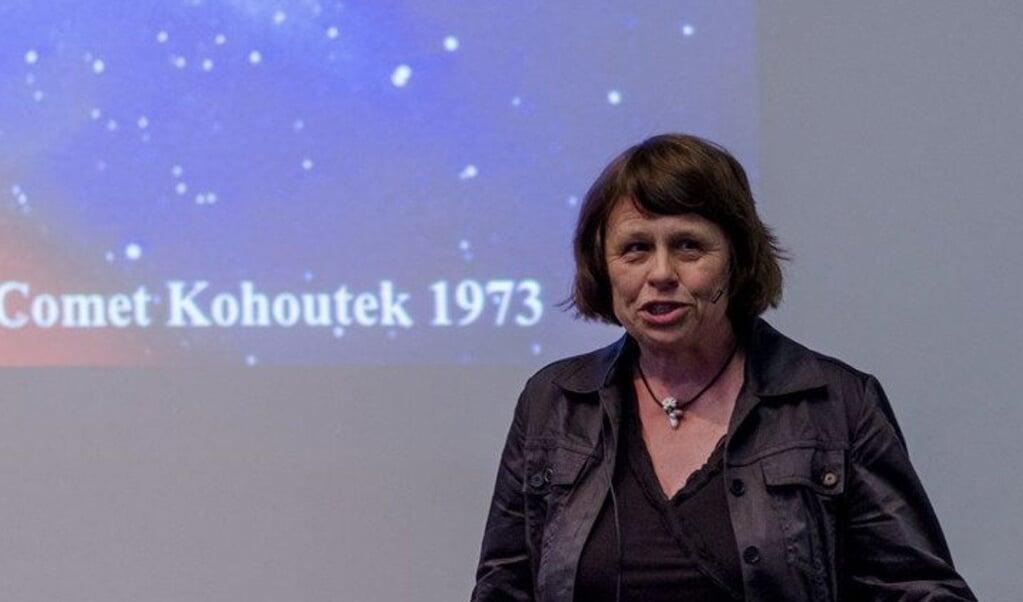 Sterrenkundige Ewine Fleur van Dishoeck is benoemd tot lid van de Pauselijke Academie van Wetenschappen.   (beeld Vaticaan)