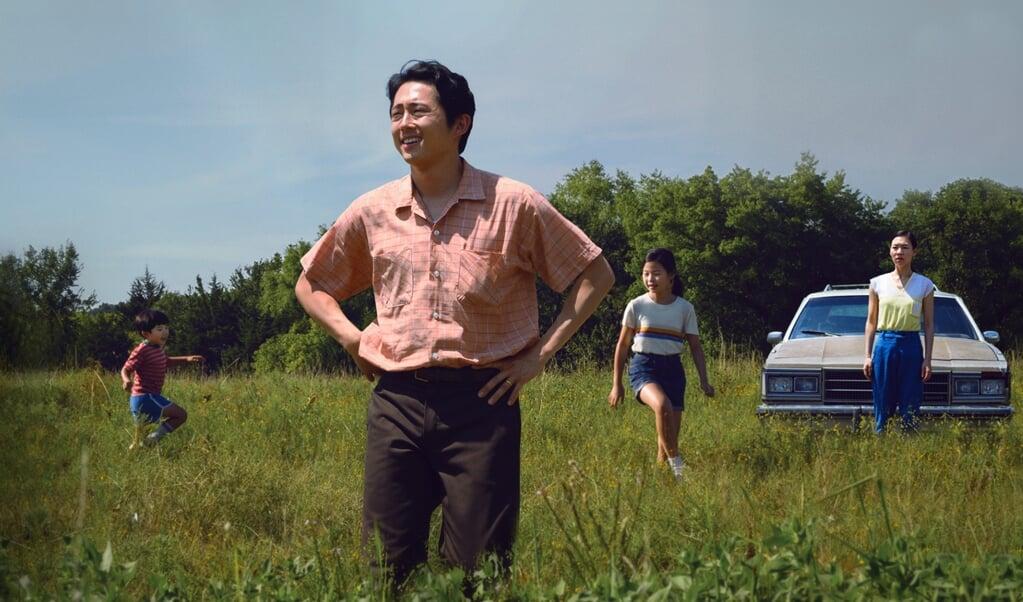 MINARI, film met Alan S. Kim, Steven Yeun, Noel Cho, Yeri Han. Director Lee Isaac Chung Credit: David Bornfriend/A24  (beeld September Film Distribution)