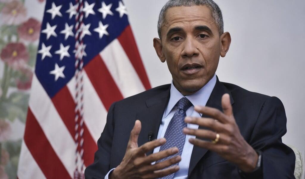 Oud-president Barack Obama  (beeld afp / Mandel Ngan)