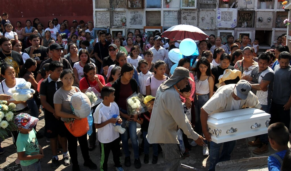 Het brute geweld van de kartels eist ook veel burgerslachtoffers.  (beeld afp / Ulises Ruiz)