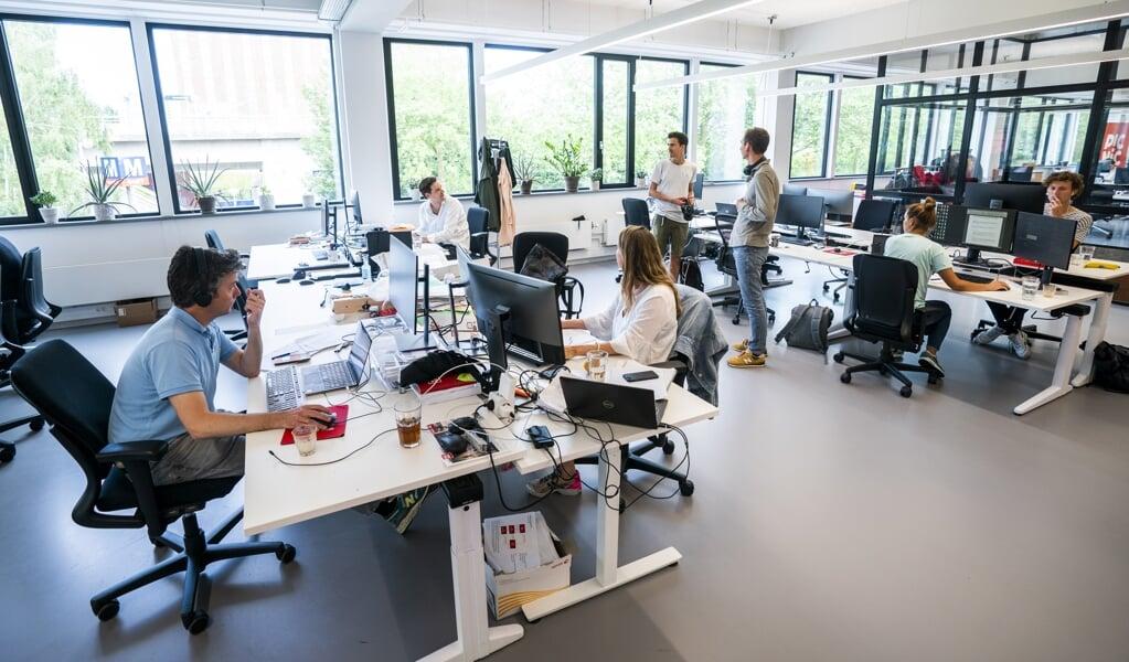Leidinggevenden geloven dat het kantoor de beste omgeving is voor zowel de productiviteit als het welzijn van hun werknemers.  (beeld anp / Jeroen Jumelet)