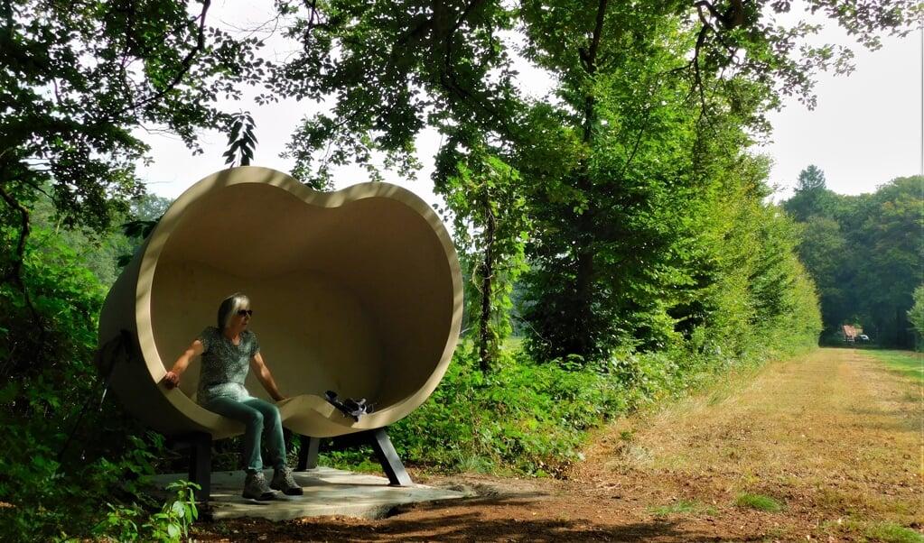'Liefde voor de natuur' is het thema van deze 'Binocular' (verrekijker).  (beeld Roel Sikkema)