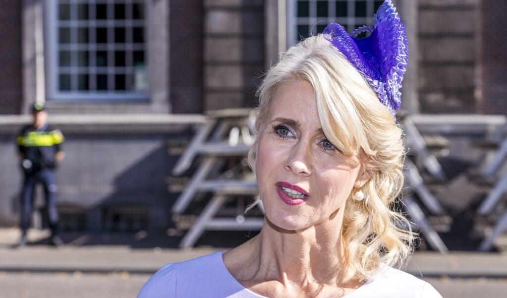 Mona Keijzer op Prinsjesdag, 21 september. Nadat ze op zaterdag 25 september is ontslagen als staatssecretaris, stapt ze nu ook op als CDA-Kamerlid.  (beeld anp / lex van Lieshout)