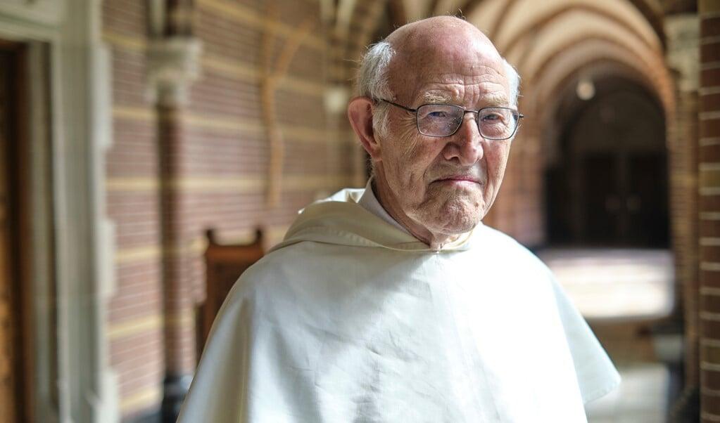 Zwolle, 2 september 2021. Pater Jan Laan, prior van het Dominicanenklooster.  (beeld Dick Vos)