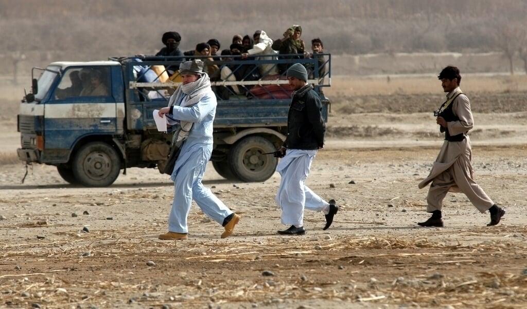 Veldonderzoek: Kandahar, Kutchi-kamp vlakbij Kandahar  (beeld Jonathan Mattebo Persson)