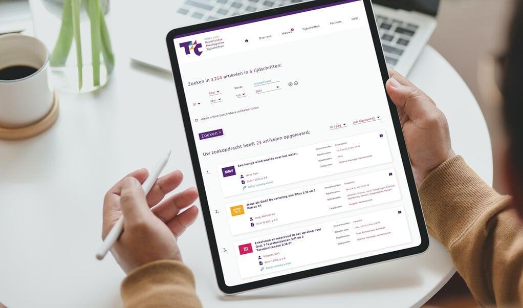 Het Evangelisch College heeft woensdag een online theologische database gelanceerd met ruim vijftienduizend artikelen uit twaalf Nederlandse theologische tijdschriften.  (beeld ND)