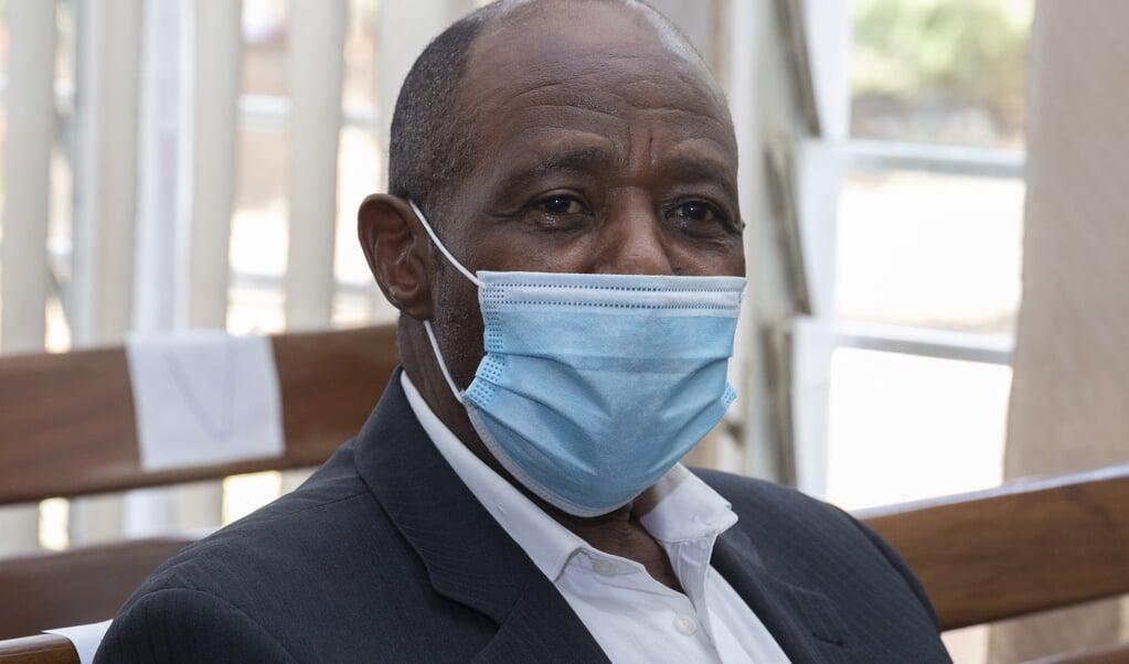 Paul Rusesabagina  (beeld epa / Eugene Uwimana)