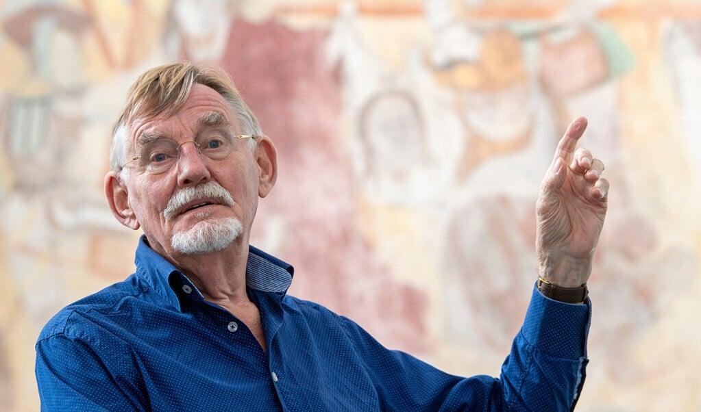 21 september promoveert de inmiddels tachtigjarige Alfred Bronswijk op het beeldverbod.  (beeld Frank Uijlenbroek)