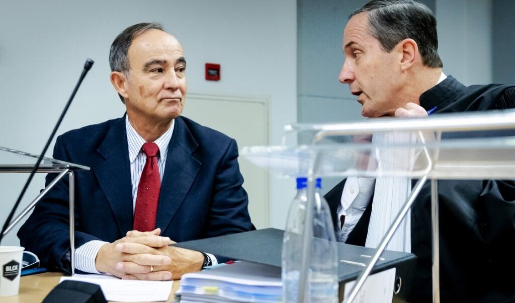 Julio Poch en Geert-Jan Knoops  (beeld anp / Robin van Lonkhuijsen)