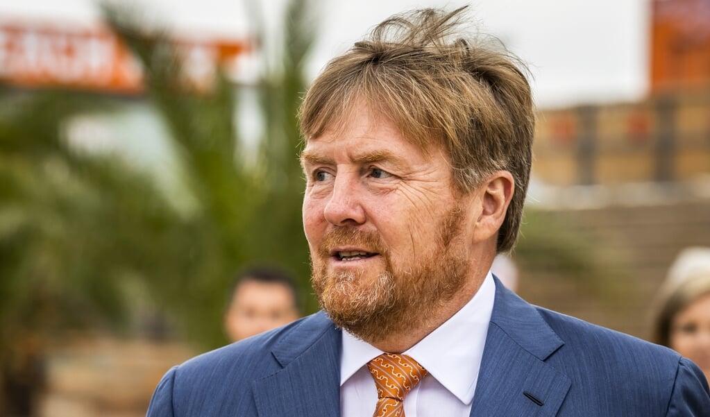 Koning Willem-Alexander  (beeld anp / Remko de Waal)