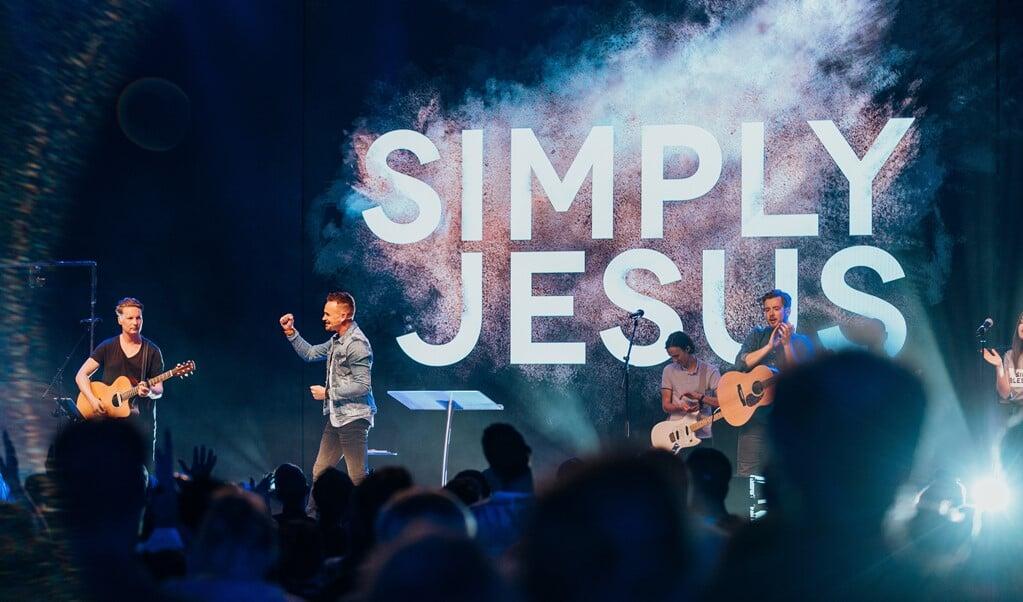Het driedaagse evenement Simply Jesus Come Together gaat door met coronatoegangsbewijs.  (beeld Simply Jesus)
