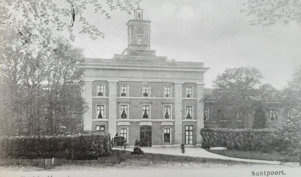 Meerenberg, het 'gesticht' waar de rabbijn-in-opleiding zijn levensverhaal schreef.  (beeld nd)