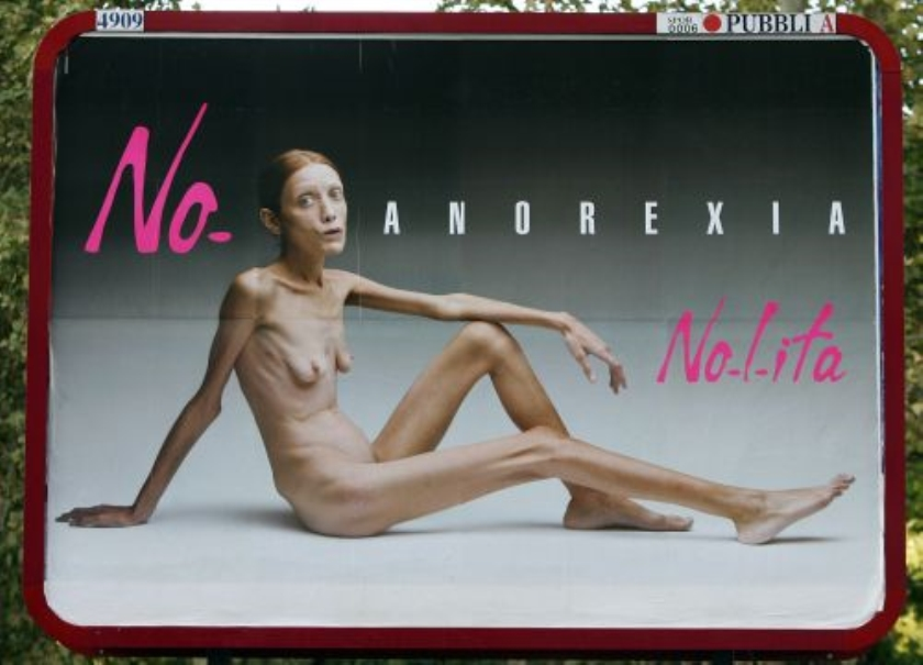 Anorexiamodel Isabelle Caro (30) dood