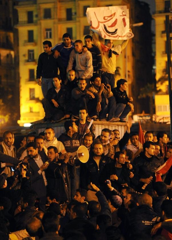 Egypte wacht omwenteling