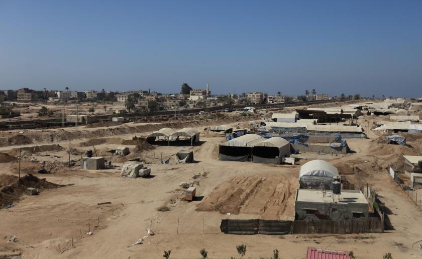 Egypte vaagt huizen bij grens met Gaza weg