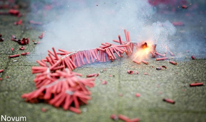 Vuurwerkverkoop profiteert van zacht weer