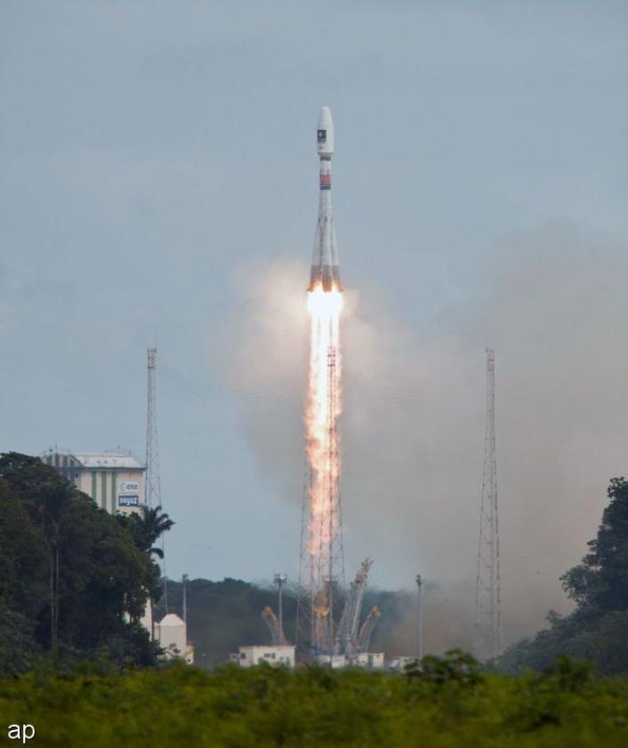 ESA-satellieten in verkeerde baan om de aarde