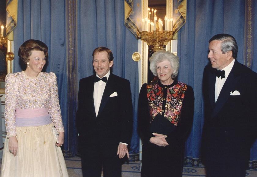 Havel herdacht als Europees democraat