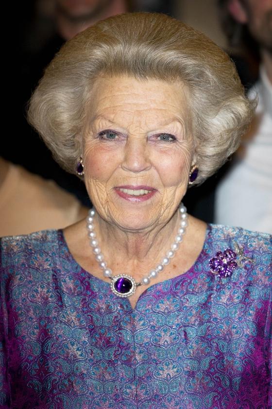 Prinses Beatrix 76 jaar