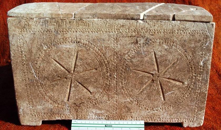 Ossuarium van familie Kajafas gevonden