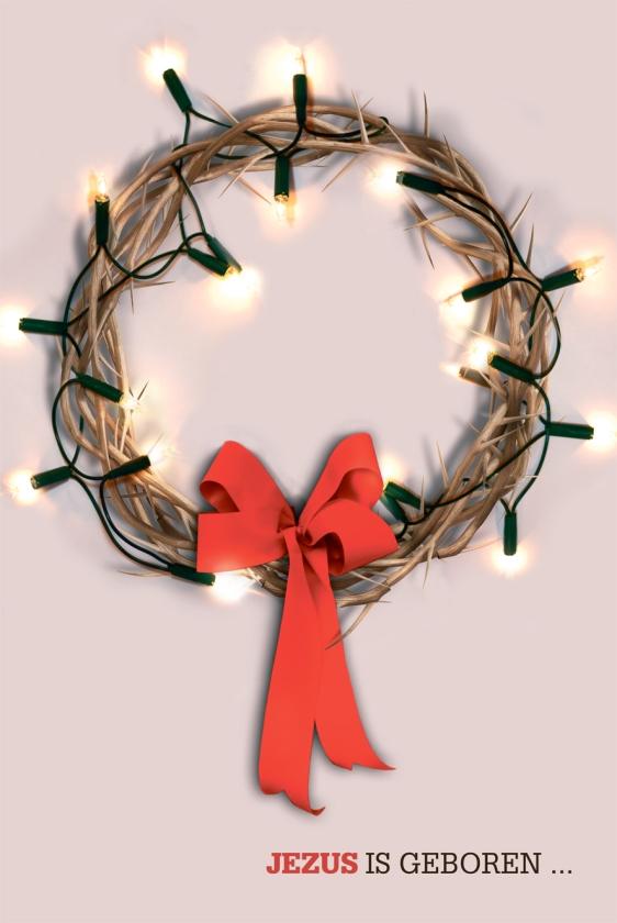 Reclame voor kerst