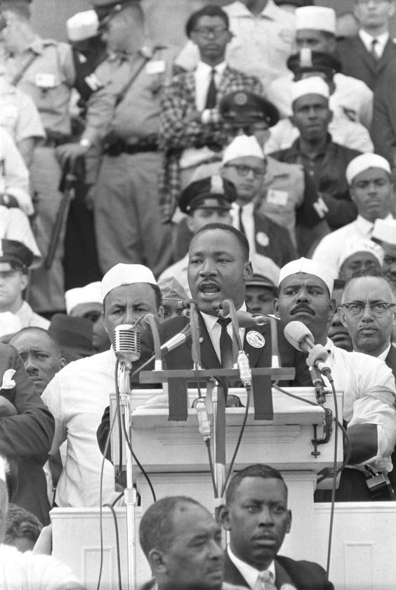 Martin Luther Kings droom onvergetelijk