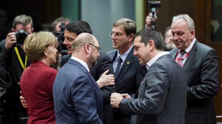 Griekenland laat met steun van ECB de geldpers draaien