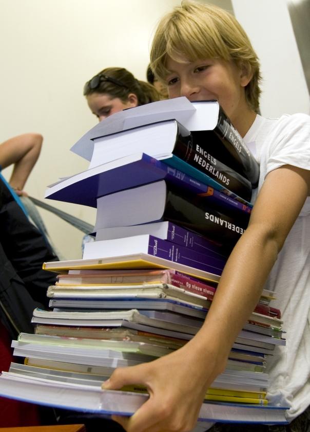 Zwarte lijst overtreding gratis schoolboeken