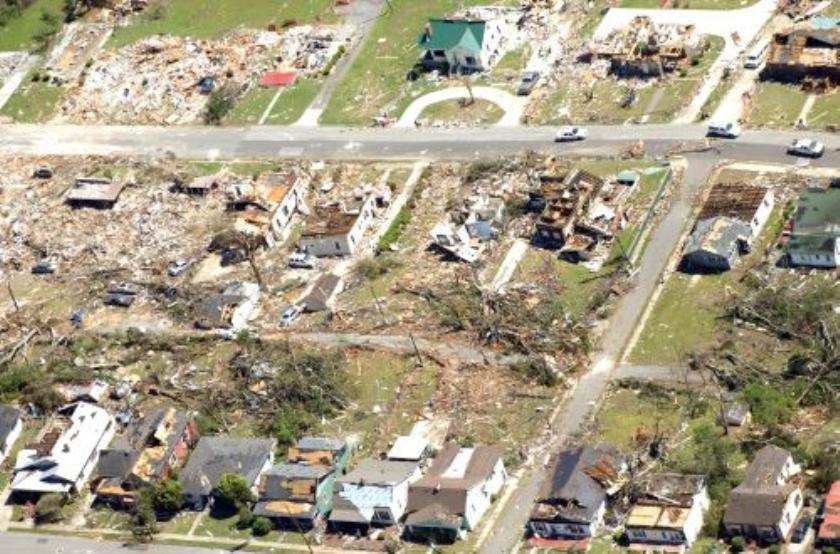 Dodental tornados VS stijgt tot 340