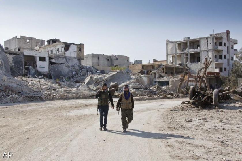 IS-strijders erkennen nederlaag Kobani