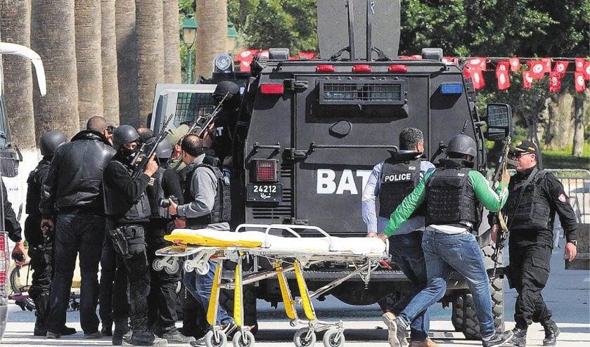 Toeristen gedood bij aanslag in Tunis