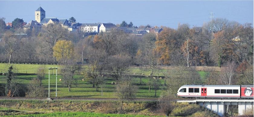 NS-dochter baas op Limburgs spoor
