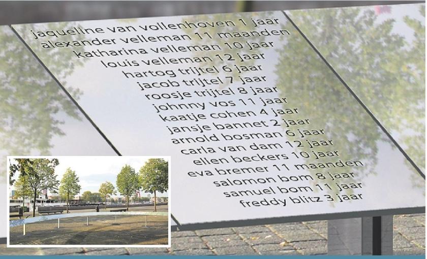 Rotterdam herdenkt gedeporteerde Joden