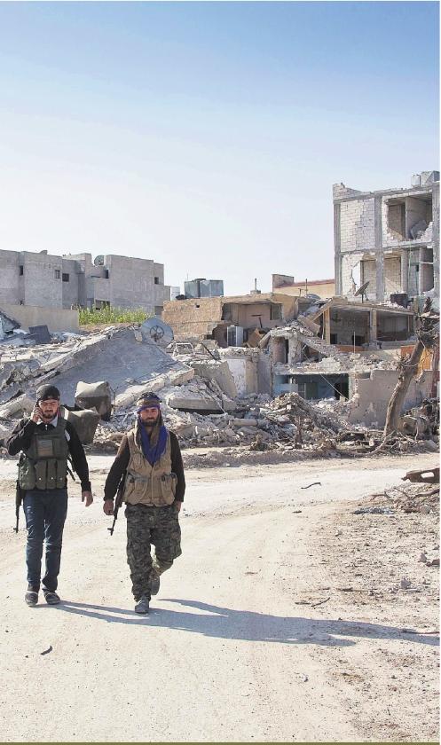 Kobani weer in Koerdische handen