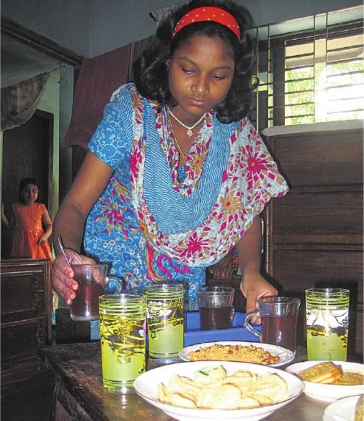 Khadija, kookprinses, huishoudster en kindslaaf
