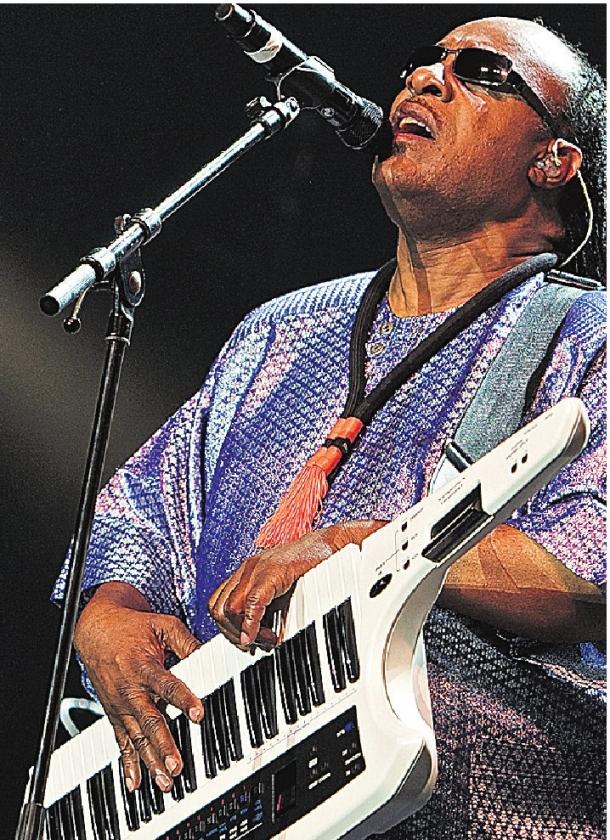 Stevie Wonder op North Sea Jazz
