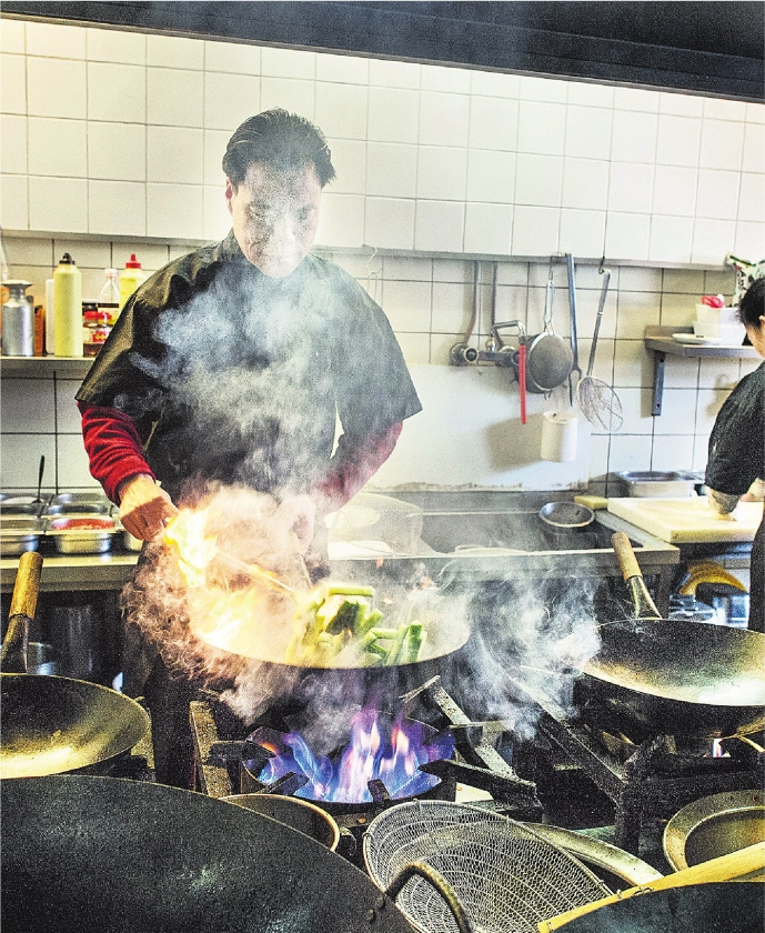 Chinees koken is vakwerk
