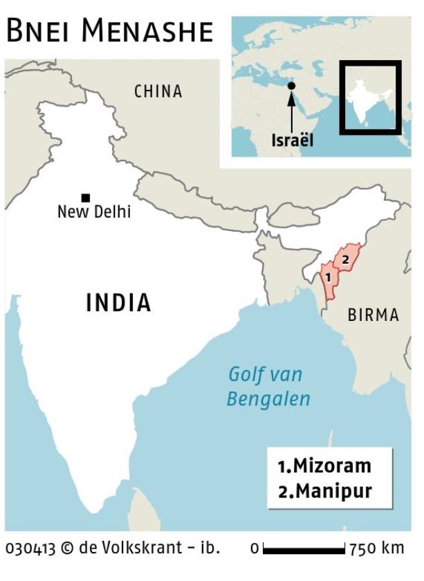 Verloren Israëlieten uit India komen thuis