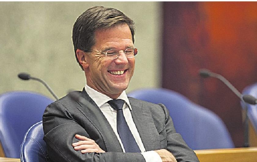 Lacht premier Mark Rutte nog wel?
