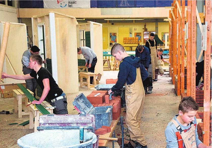 Kans voor jongeren op bouwplaats