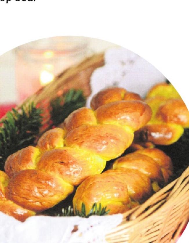 Goedemorgen met vers brood