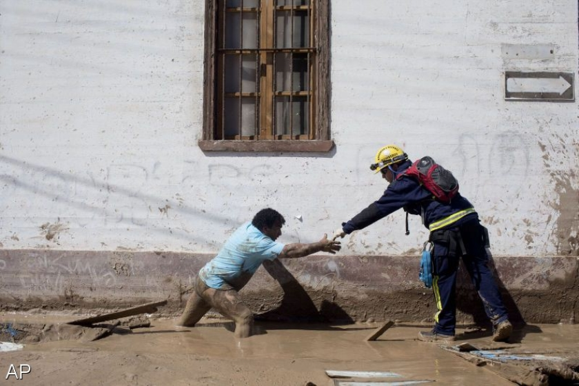 17 doden, 20 vermisten na overstromingen Chili