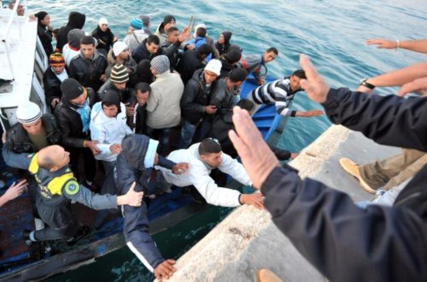 Ruim 2000 Libische vluchtelingen op Lampedusa