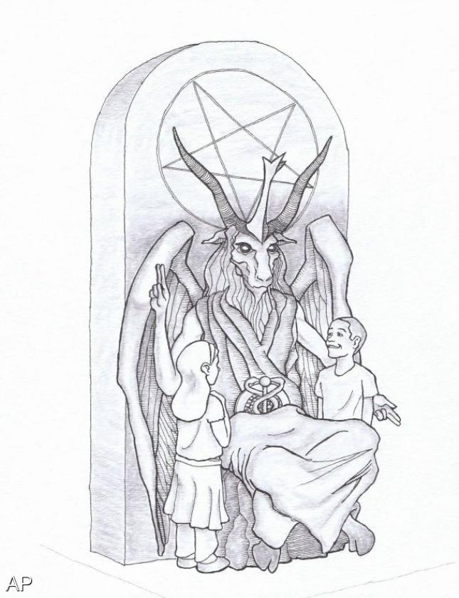 Satanaanbidders willen beeld in Oklahoma